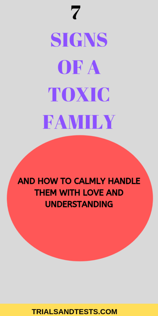 toxic family dynamics u0026amp; signs