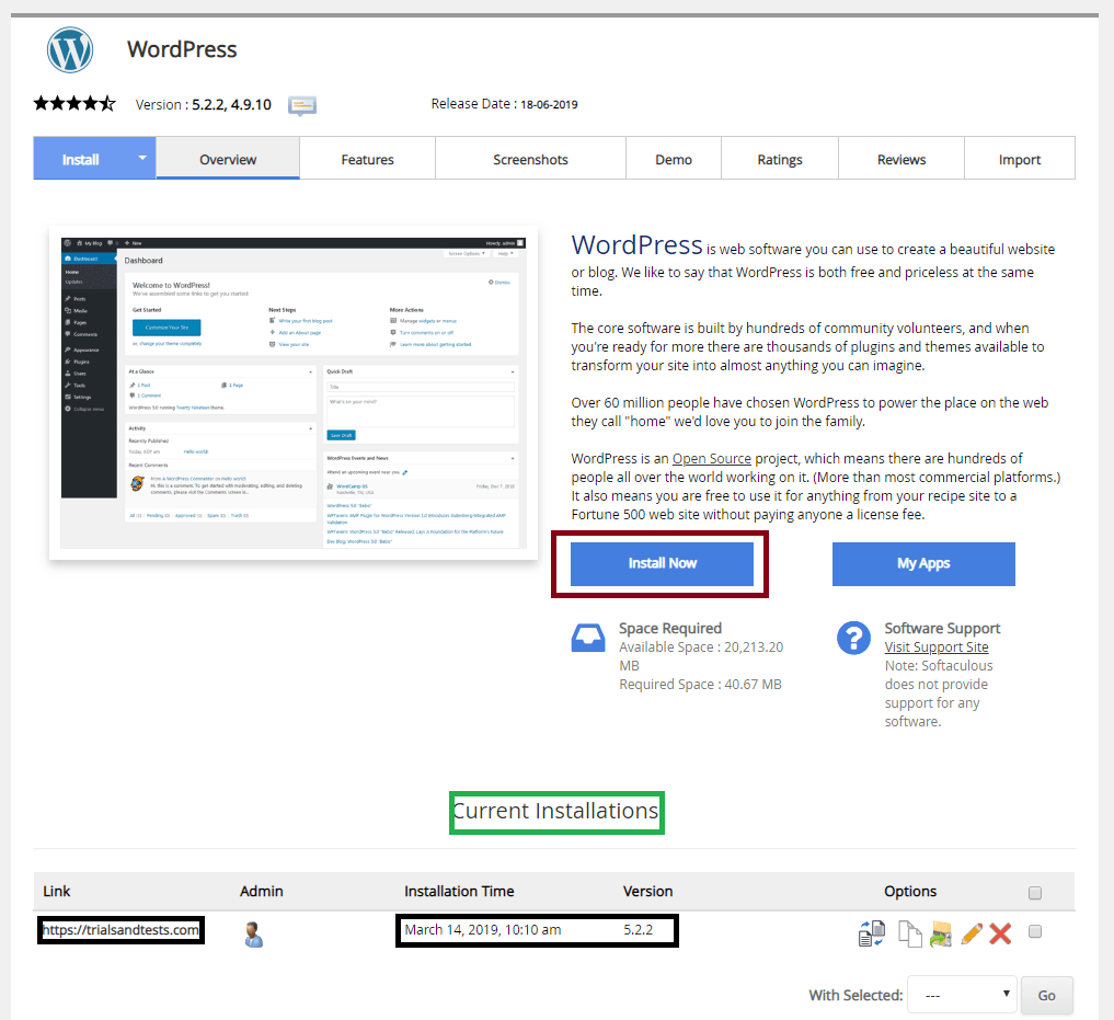 wordpress-installation-namecheap