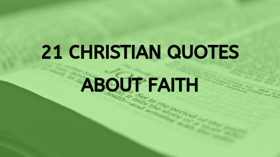 christian quotes about faith.