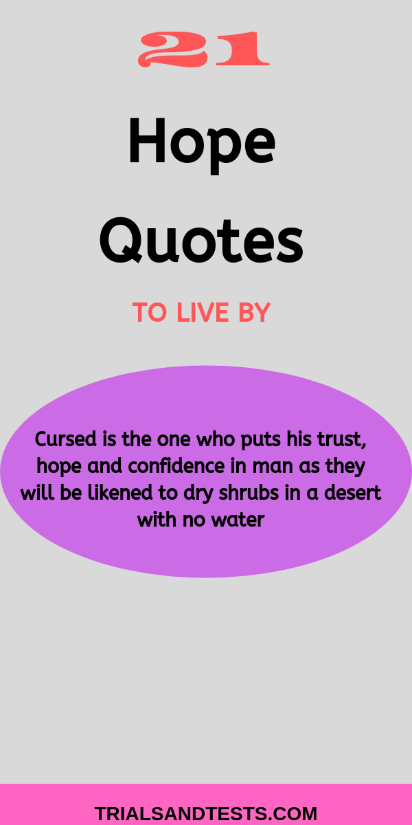 bible hope quotes