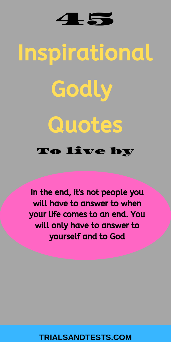 inspirational godly quotes.