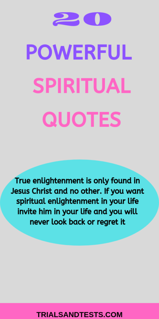 powerful spiritual quotes