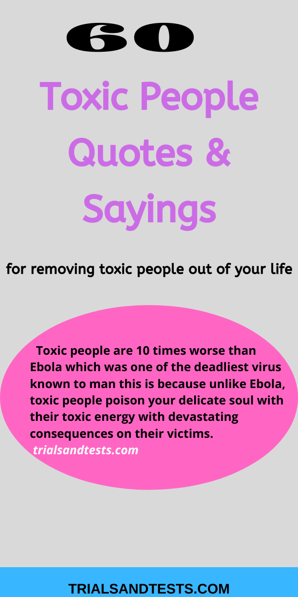 toxic people quotes and sayings