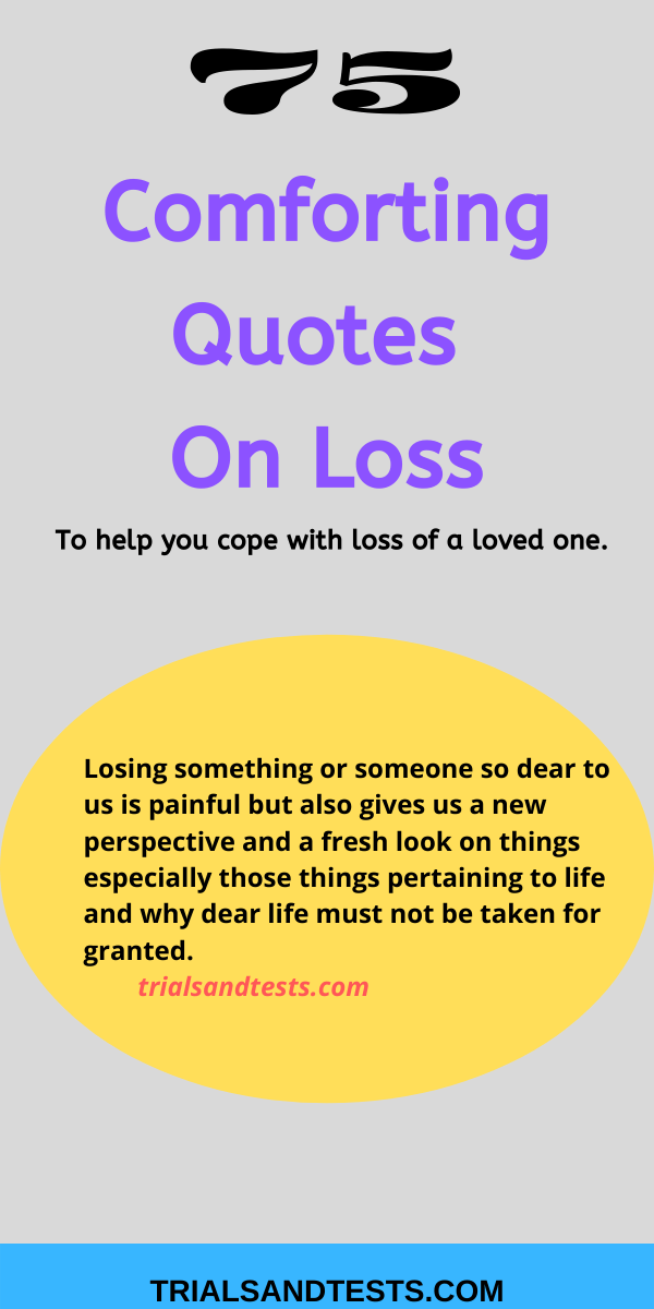 quotes on loss.