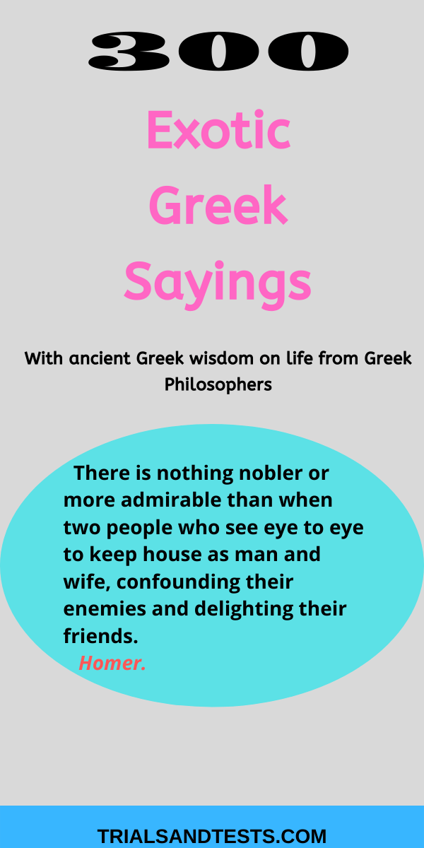 Greek-sayings