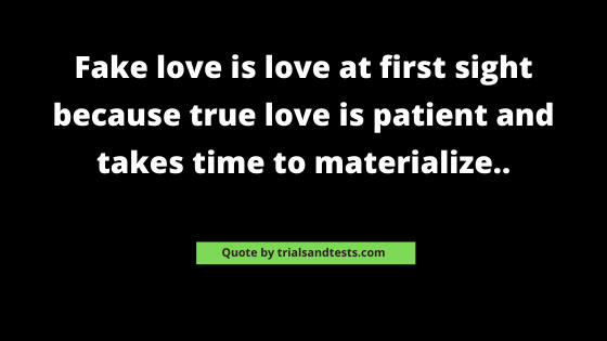 fake-love-quotes