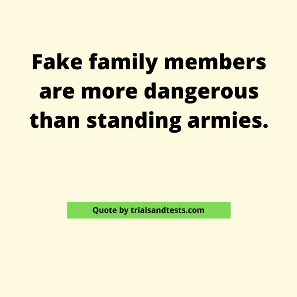 quotes-about-fake-families