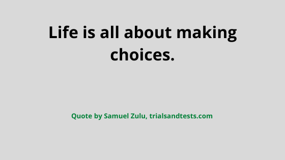 choices quotes.