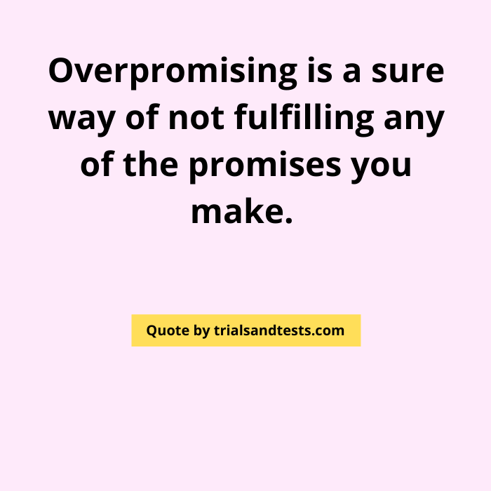 quotes-on-promises