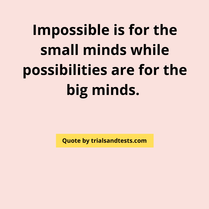 possibility-quotes.