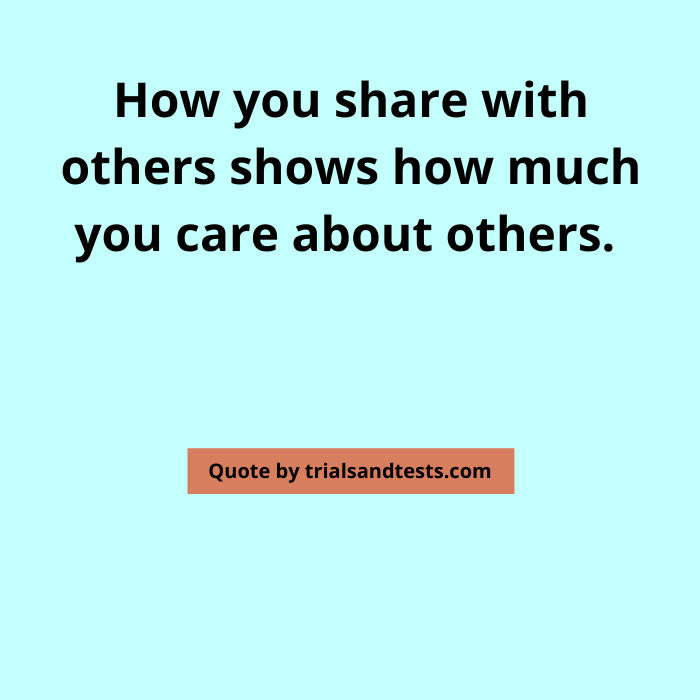 quotes-on-sharing